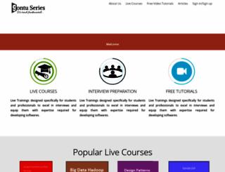 gontu.org screenshot