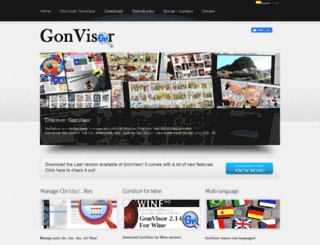 gonvisor.com screenshot