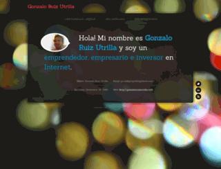 gonzaloruizutrilla.com screenshot