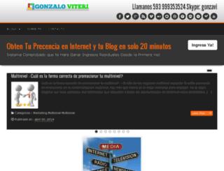 gonzaloviteri.com screenshot