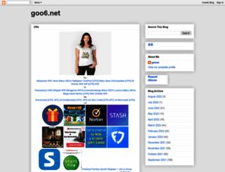 goo6.net screenshot