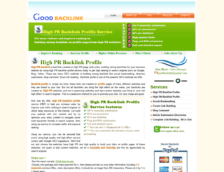 good-backlink.com screenshot
