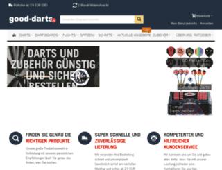 good-darts.de screenshot