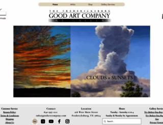 goodartcompany.com screenshot