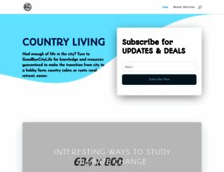 goodbyecitylife.com screenshot