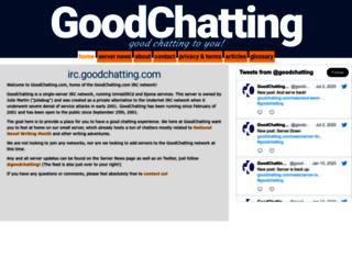 goodchatting.com screenshot