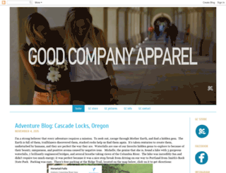 goodcompanyapparel.blogspot.com screenshot