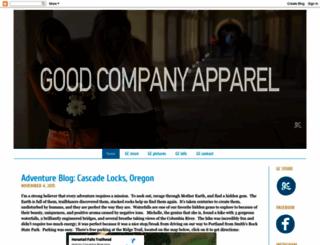 goodcompanyapparel.blogspot.com screenshot