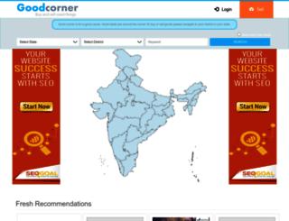 goodcorner.in screenshot