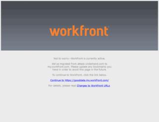 gooddata.attask-ondemand.com screenshot