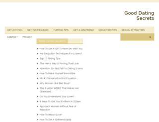 gooddatingsecrets.com screenshot