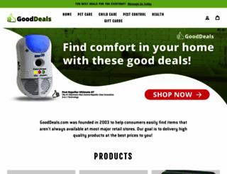 gooddeals.com screenshot