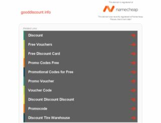 gooddiscount.info screenshot