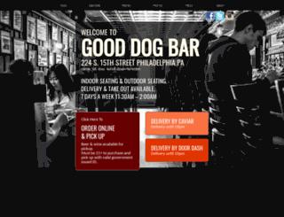 gooddogbar.com screenshot
