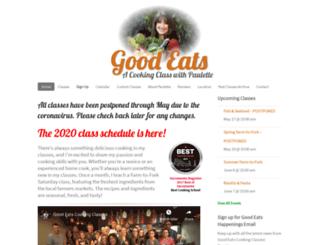 goodeatscookingclasses.com screenshot
