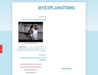 goodexplanations.blogspot.com screenshot