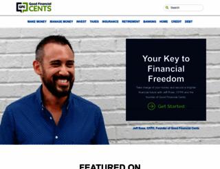 goodfinancialcents.com screenshot
