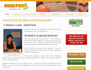 goodfoodbournemouth.co.uk screenshot