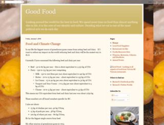 goodfoodca.blogspot.com screenshot