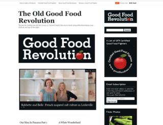 goodfoodrevolution.wordpress.com screenshot