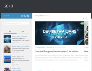 goodgame4u.com screenshot