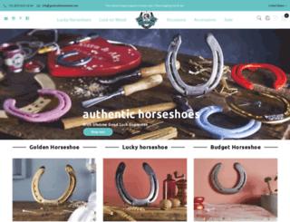 goodluckhorseshoes.com screenshot