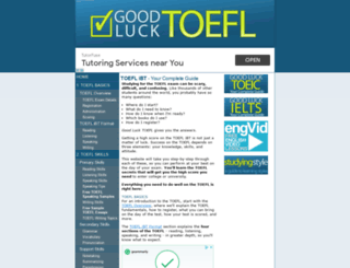 goodlucktoefl.com screenshot