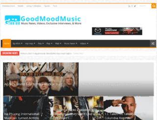 goodmoodmusic.com screenshot