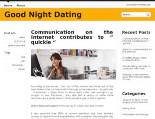 goodnightdating.com screenshot
