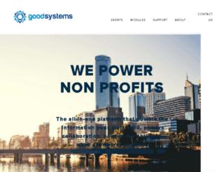 goodsystems.com.au screenshot