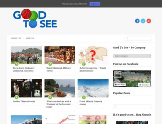 goodtosee.com screenshot