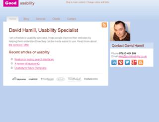 goodusability.co.uk screenshot