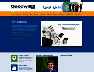 goodwill-suncoast.org screenshot