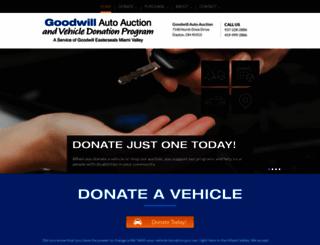 goodwilldaytonauto.com screenshot