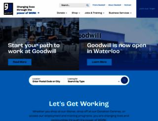 goodwillekl.com screenshot