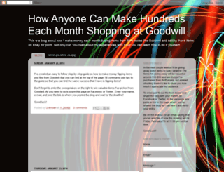goodwillmoney.blogspot.com screenshot