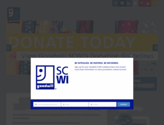 goodwillscwi.org screenshot
