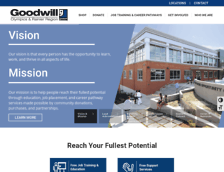 goodwillwa.org screenshot