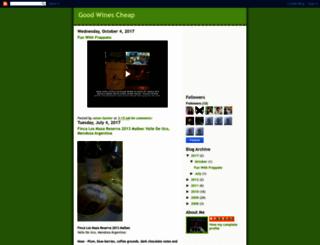 goodwinescheap.blogspot.ru screenshot