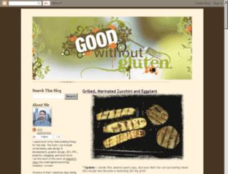 goodwithoutgluten.com screenshot