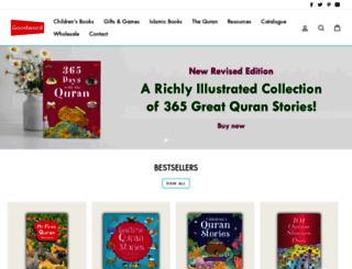 goodwordbooks.com screenshot
