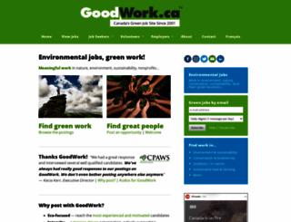 goodwork.ca screenshot