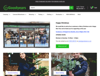 goodyears.co.uk screenshot