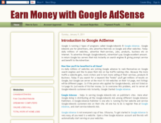 google-adsense-earn.blogspot.in screenshot