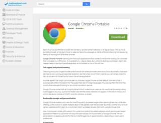 google-chrome-portable.joydownload.com screenshot
