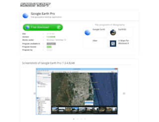 google-earth-pro.secursoft.net screenshot