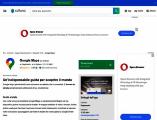 google-maps.softonic.it screenshot