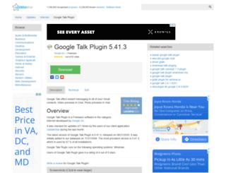 google-talk-plugin.updatestar.com screenshot