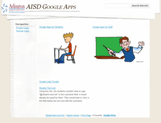 google.aisd.net screenshot
