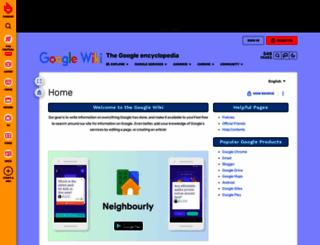 google.wikia.com screenshot